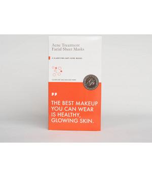 "Маска тканевая для проблемной кожи лица ""анти-акне"" Acne Treatment Facial Sheet Masks, 6 шт"