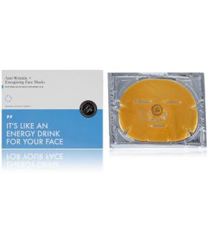 Маска для лица энергетическая с коллагеном и коллоидным золотом против морщин Anti Wrinkle + Energizing Face Masks, 6 шт