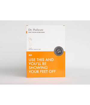 Носочки для педикюра с ароматом персика Dr. Pedicure Peach, 1 пара