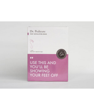 Носочки для педикюра с ароматом лаванды Dr. Pedicure Lavender, 1 пара