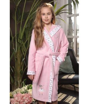 Детский махровый халат Balerinka (EFW)