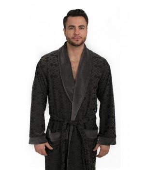 Велюровый халат из бамбука DYLON (EPP M121)