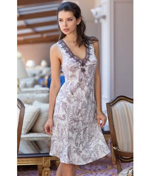 Длинная сорочка из натурального шелка Evita (3088)