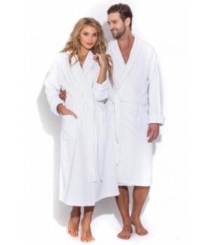 Белый банный халат Arctic White (Е 363/5)