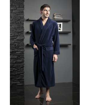 Велюровый халат из бамбука LAWRENCE (EFW)