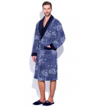Велюровый халат из бамбука DIGITAL (EP 7490)