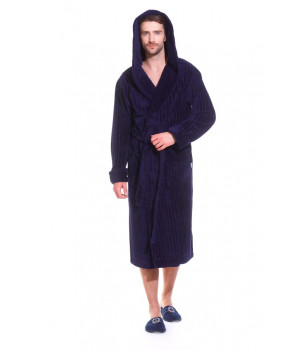Бамбуковый халат с капюшоном Soho Sport Club (EP 8807)