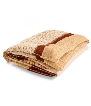 """Одеяло из овечьей шерсти """"Золотое руно"""" 140х205 теплое"""
