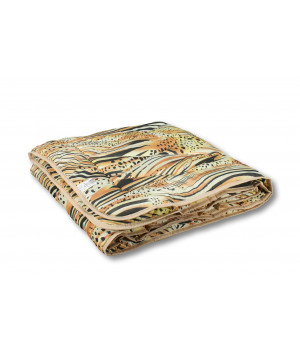 Одеяло холлофайбер 172х205 легкое в чемодане