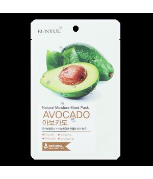 Маска тканевая с экстрактом авокадо, 22мл, EUNYUL
