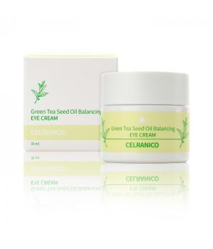 Балансирующий крем для зоны вокруг глаз с семенами зеленого чая, 30мл, CELRANICO