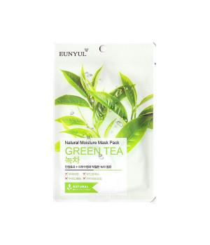 Маска тканевая с экстрактом зеленого чая, 22мл, EUNYUL