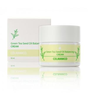 Балансирующий крем с семенами зеленого чая, 50 мл, CELRANICO