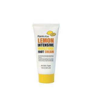 Крем для ног увлажняющий с экстрактом лимона, 100мл, FarmStay
