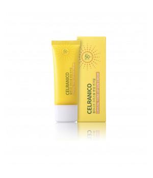 Солнцезащитный крем для лица SPF50/Pa+++, 40мл, CELRANICO