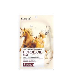 Маска тканевая с лошадиным маслом, 22мл, EUNYUL